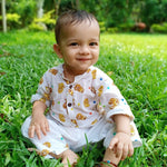 Muslin Kurta Pajama - Lord Lion - 0-5 Years
