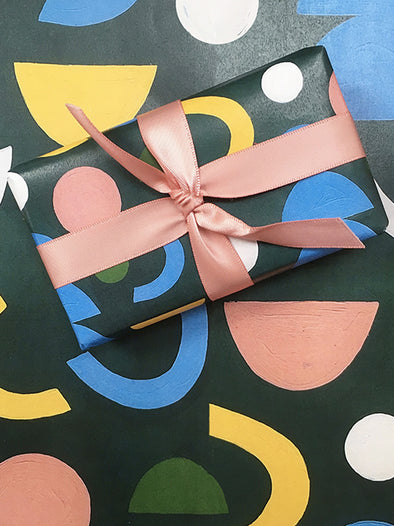 Paint Your Own Seamless Gift Wrap