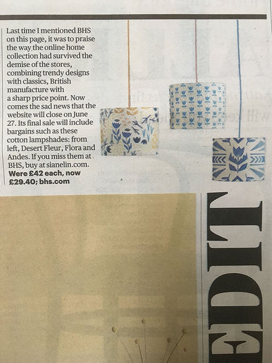 The Sunday Times – BHS Collaboration