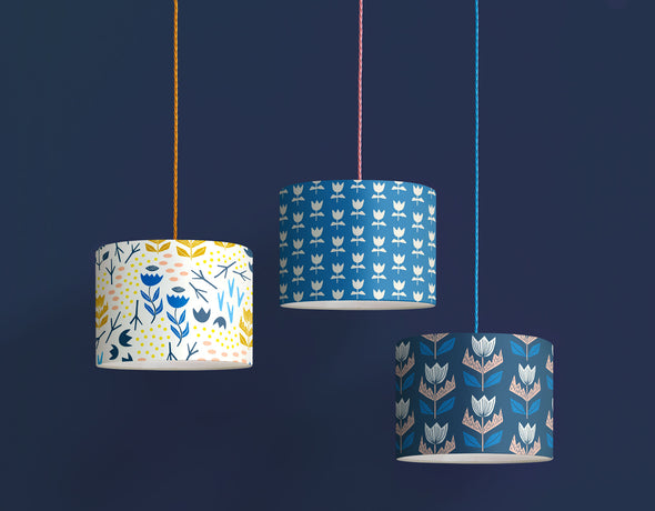 Elin Lampshade Sale – Oxford Blue