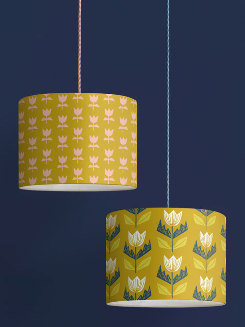 Flora Lampshade – Gold
