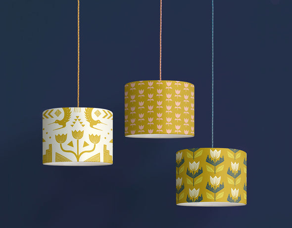 Flora Lampshade Sale – Gold