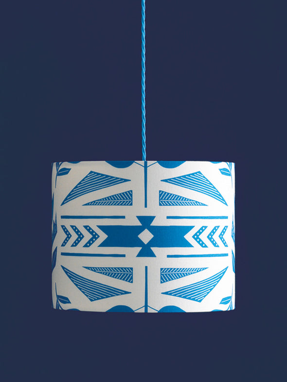 Andes Lampshade – Cobalt