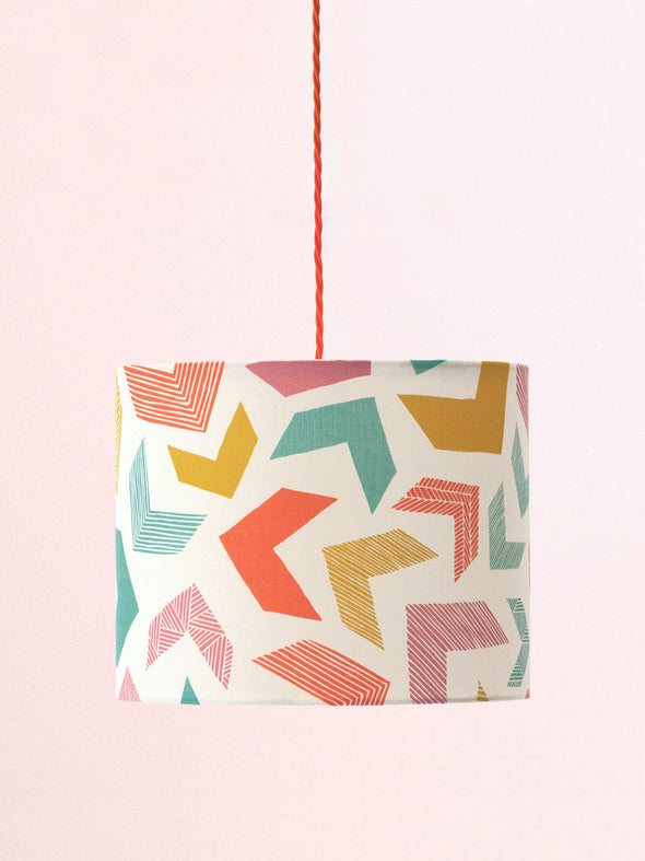 Chevrons Lampshade