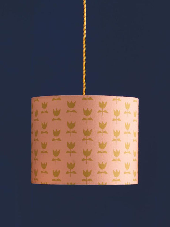 Flora Lampshade Sale – Blush