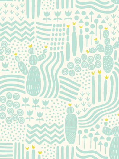 Inca Trail Fabric – Mint