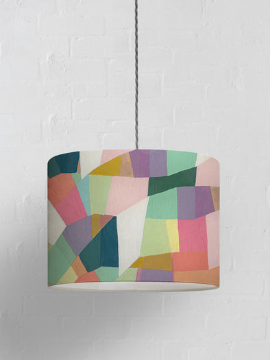 Abstract Geo Lampshade – Multi