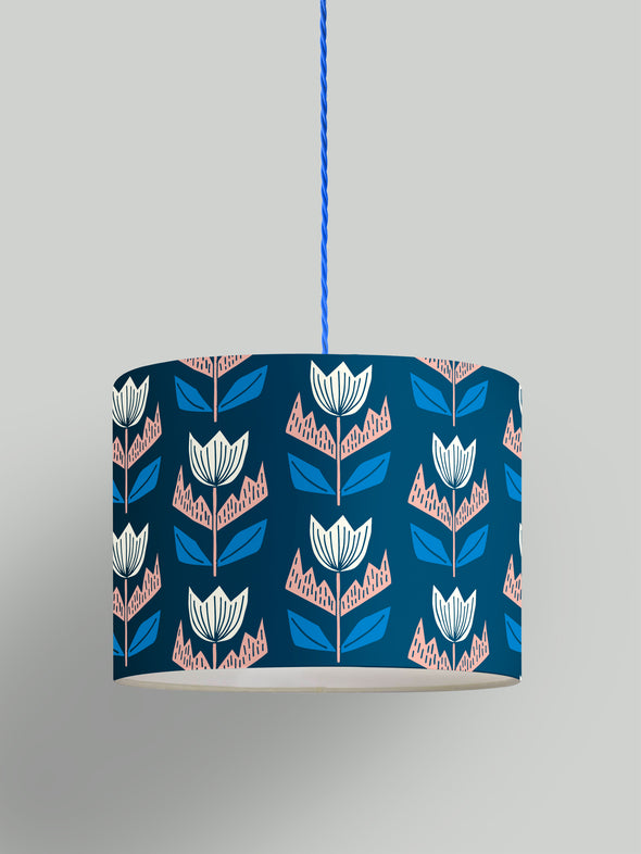 Elin Lampshade Kit – Oxford Blue