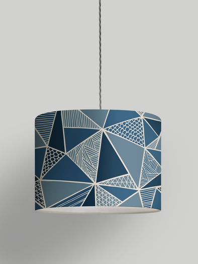 Tress Lampshade – Oxford Blue