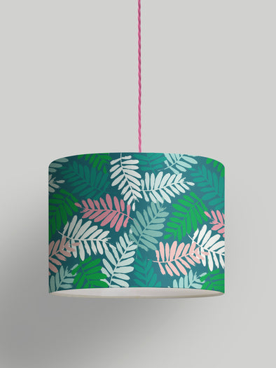 Tropical Leaf Lampshade