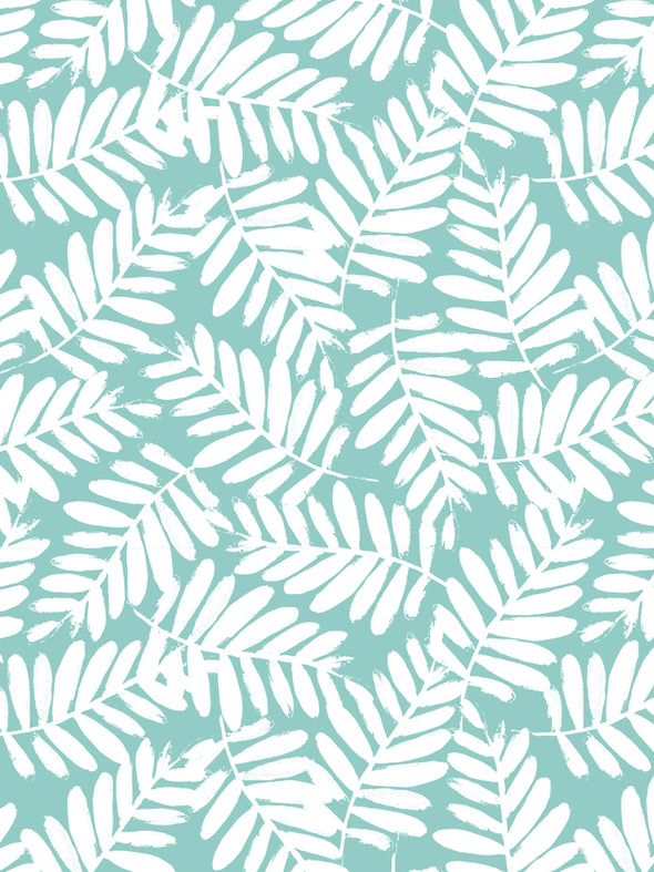 Tropical Leaf Fabric Sample
