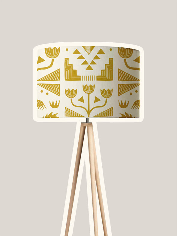Nazca Lampshade Kit – Gold
