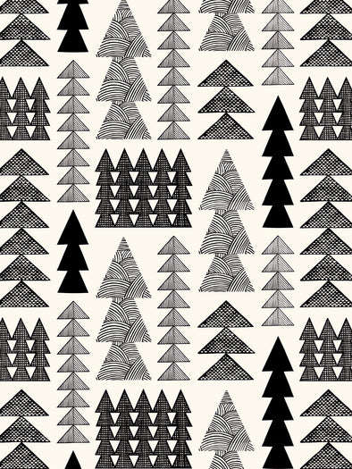 Nordic Forest Wallpaper