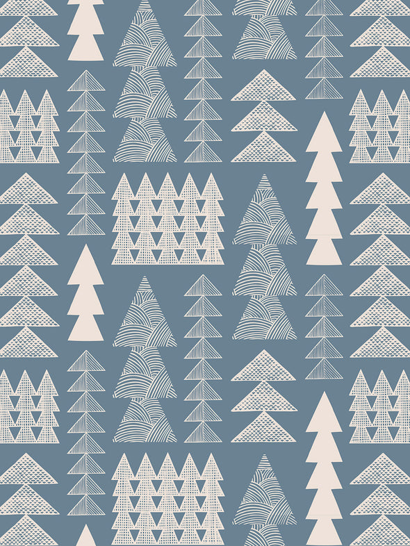 Nordic Forest Wallpaper Sample