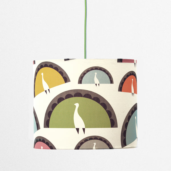 Peacocks Lampshade