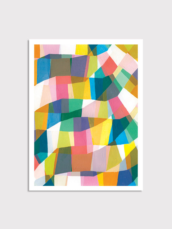 Geo Abstract Print