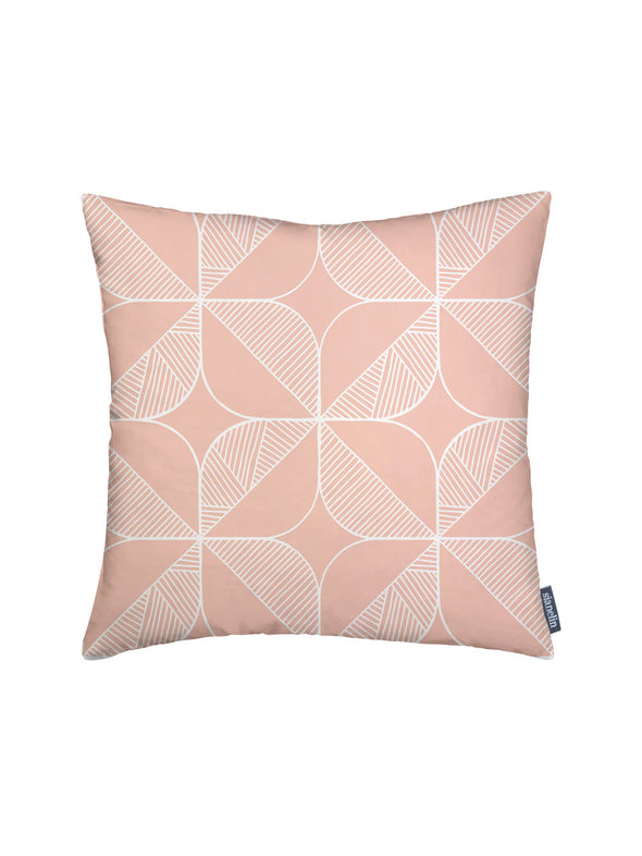 Rosette Cushion – Blush