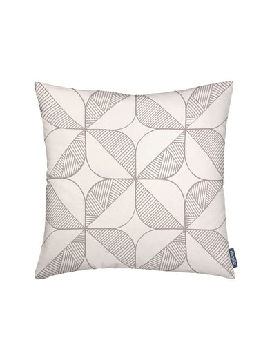 Rosette Cushion – Cream