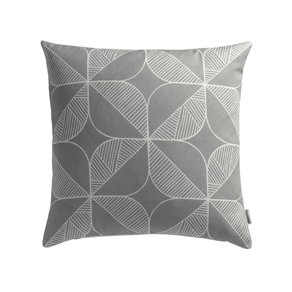 Rosette Cushion – French Grey