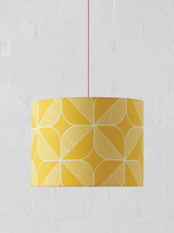 Rosette Lampshade Sale – Mustard