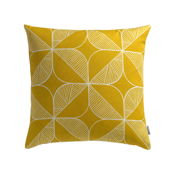 Rosette Cushion (Yellow) Sale