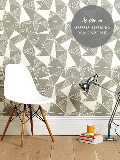 Tress Wallpaper – French Grey