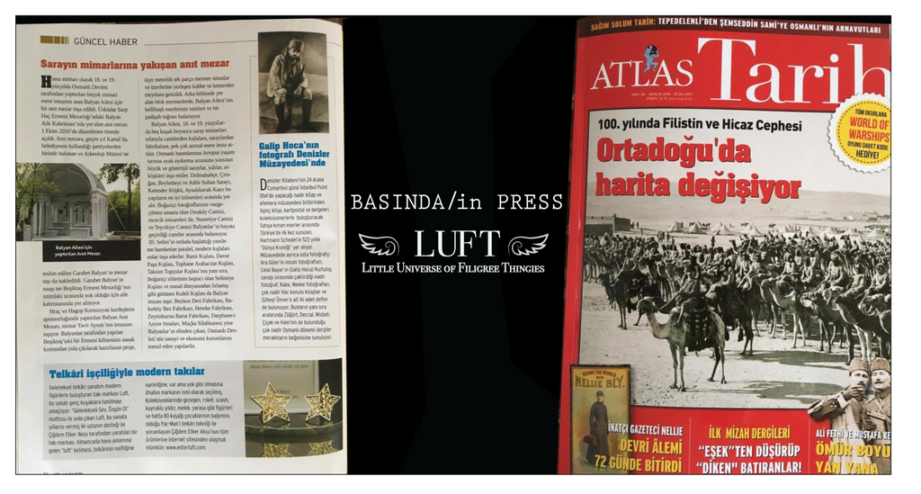 LUFT appeared @ Atlas Tarih (Atlas History) Magazine