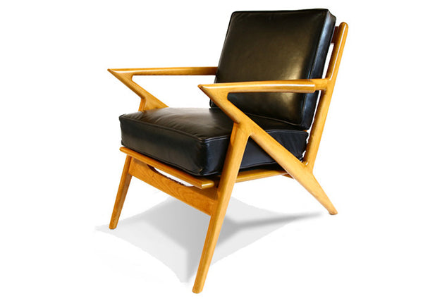 Danish Z Chair in Leather