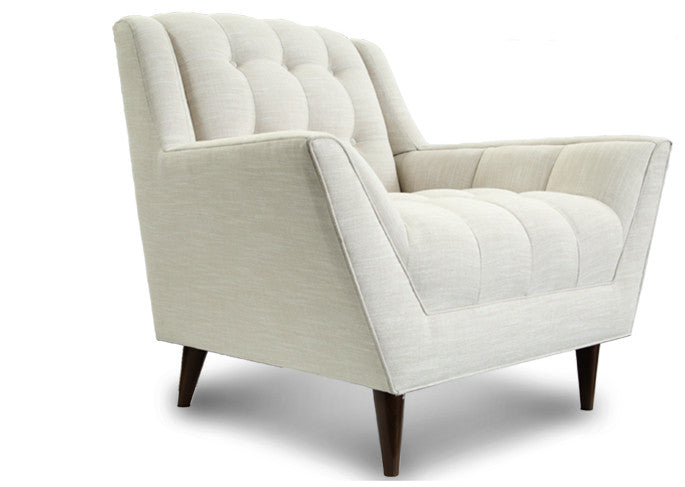 Winged Tufted Chair