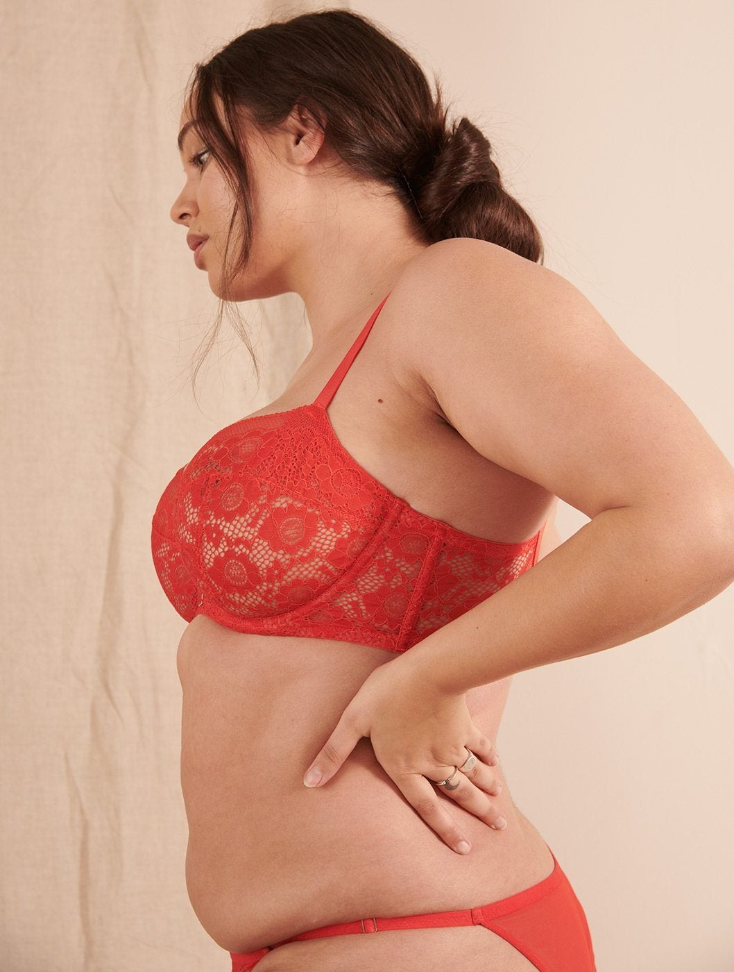 Forecast Z Bra in Red Z Bra Beija London