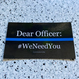 #WeNeedYou Magnets - Set of 3