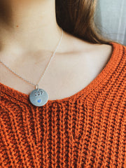 Personalized Badge Number Necklace (Classic Style)