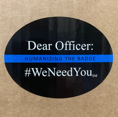 #WeNeedYou Stickers - Set of 3