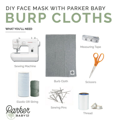 DIY Cloth Face Mask: step-by-step instructions