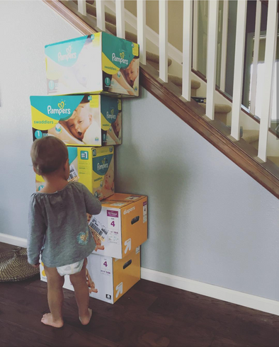 Stocking Up On Diapers: How many to buy, How to SAVE MONEY!!
