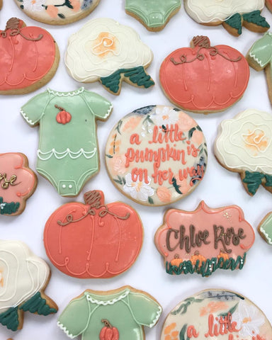 Colie's Cakes and Pastries - Baby Shower Cookies photo