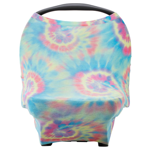 Tie Dye Multi-us Car Seat Cover