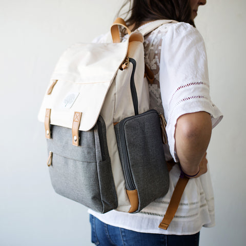 Parker Baby Co. Diaper Backpack - The Birch Bag