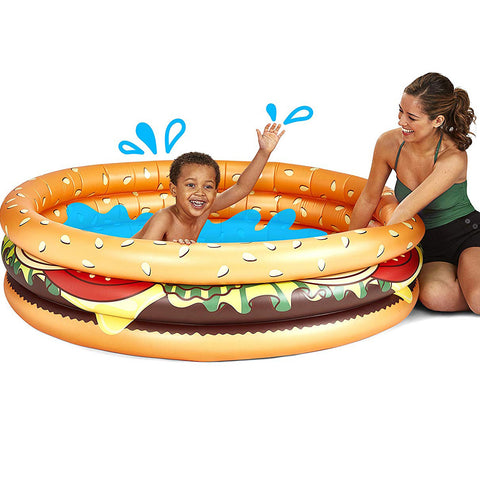 Hamburger Inflatable Pool