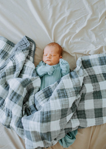 Muslin Cotton baby, infant and toddler blanket