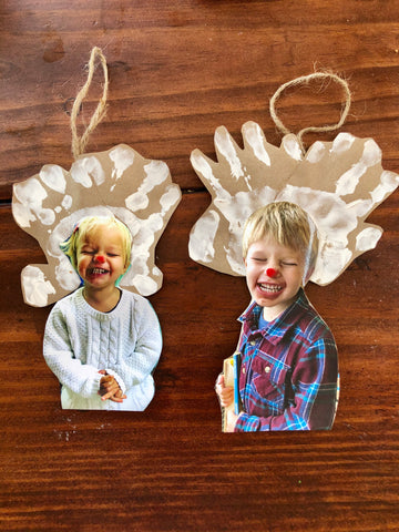 Reindeer Picture Ornaments