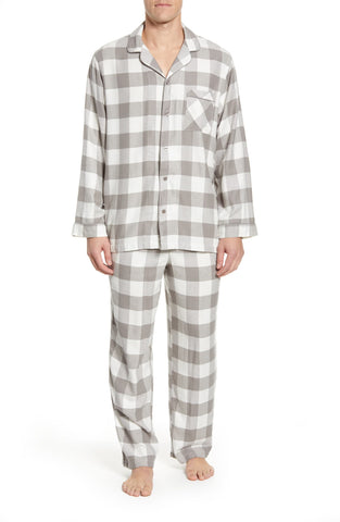 Nordstrom Flannel PJs for men: Holiday Gift Guide for Him by Parker Baby Co