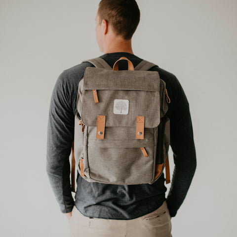 Gray Birch Bag from Parker Baby Co. - Father's Day Gift Guide
