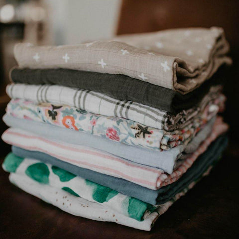 Parker Baby's swaddle options:
