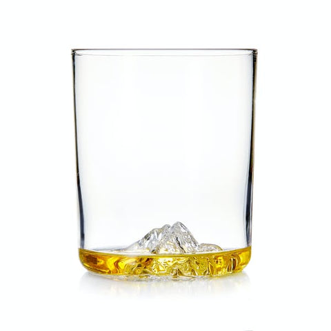 whiskey peaks whiskey glasses - father's day gift guide for baby daddy