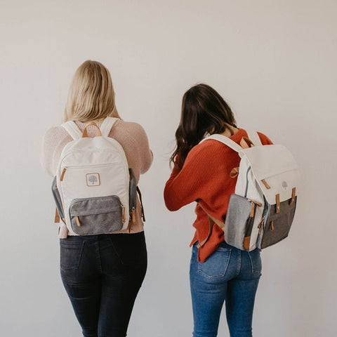 Diaper Backpack in Cream