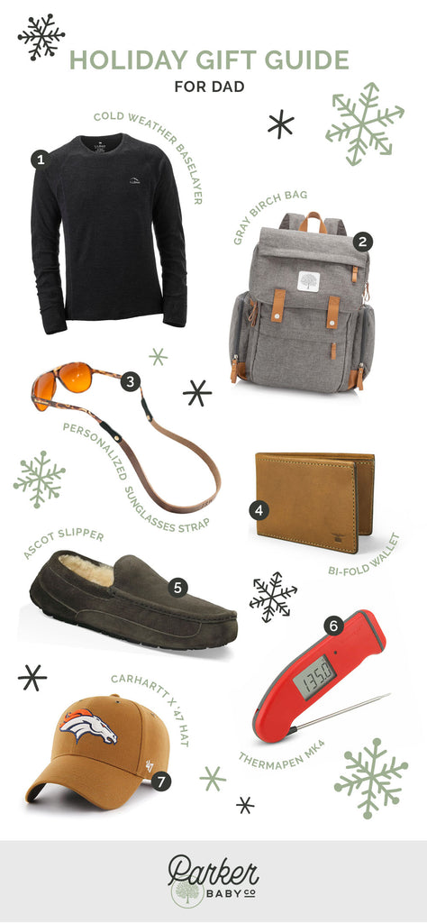 Holiday Gift Guide: For Dad by Parker Baby Co.
