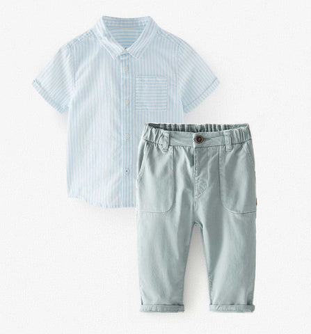 baby boy Zara outfit for Easter and Spring