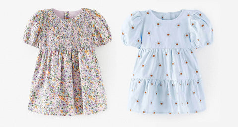 Zara baby and toddler girls dresses for Easter and Spring