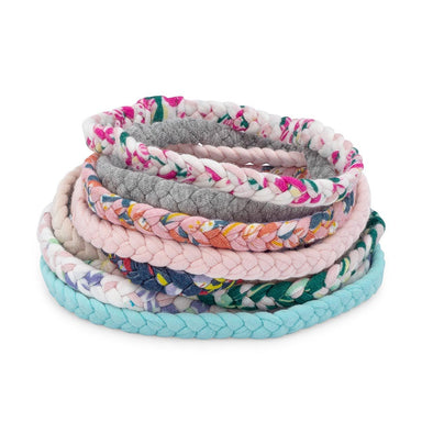 Wildflower Set - Braided Headbands - 10 Pack